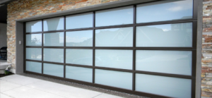 Aluminum Glass Garage Door Design