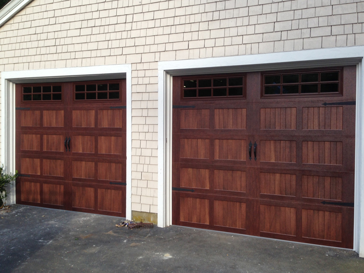 Residential Wood Garage Doors Austin TX